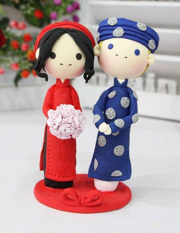 Quà cưới handmade 9